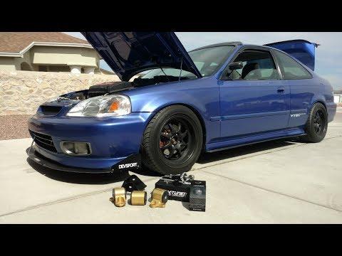 EM1 Gets Hasport Mounts & K-Tuned Shifter X (DIY Install 96-00 Civic)