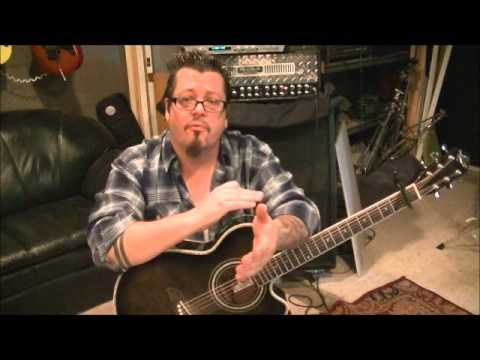 How to play WORKIN MAN BLUES by MERLE HAGGARD on guitar by Mike Gross
