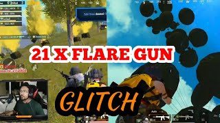 21 FLARE GUN PUBG MOBILE NEW GLITCH | UNLIMITED FLARE GUN TO MUCH FUN
