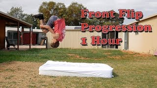 Front Flip (On Tнe Ground) Progression 1 HOUR