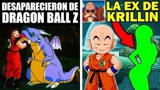 7 Personajes de Dragon Ball Z que Desaparecieron Misteriosamente