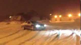 snow drifting in my 2014 audi a4 quattro part 2