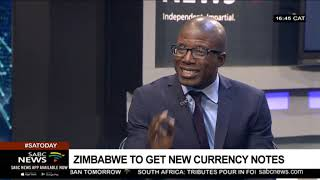 Zimbabwe's new currency: Acie Lumumba