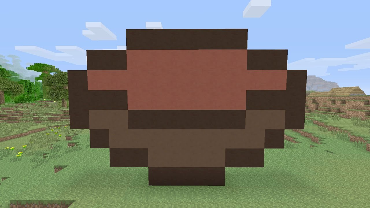 Minecraft Tutorials - Beetroot Soup Pixel Art - YouTube