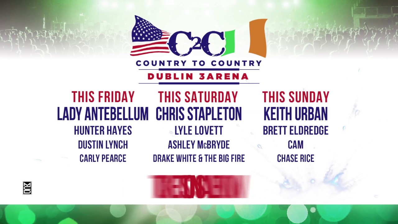 Country To Country 2019 - MCD ie