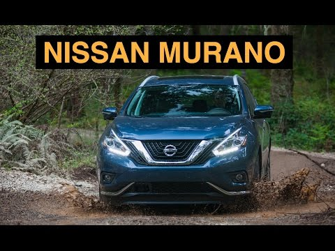 2015 Nissan Murano - Off Road And Track Review - Platinum AWD