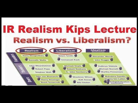 Видео Realism and liberalism essay