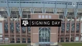 2017 Texas A&M Football Signing Day Special | John Chavis