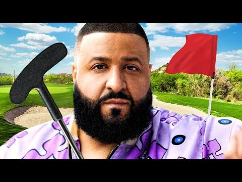 DJ KHALED JOINS?! - GOLF IT
