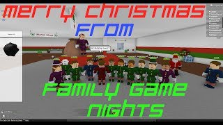 Roblox: Christmas Rush w/Family Game Nights
