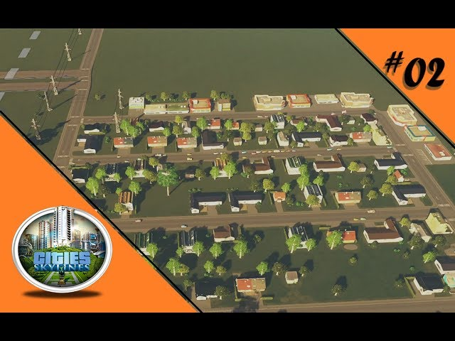 FORELLE VIERKANT FÜR DOOFE KINDER 🏡 Let's Play Cities: Skylines #02