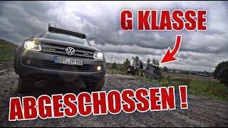 G KLASSE ABGESCHOSSEN 😂🤷🏻♂️ ! AMAROK VS. MERCEDES G | ItsMarvin