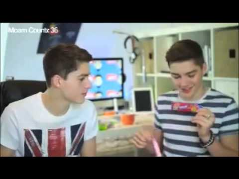 Jack and Finn brotherly moments on YouNow CUTE | Doovi Finn Harries And Jack Harries Differences