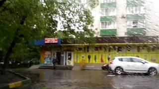 Район после шторма (Гаражное 7)