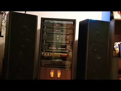 Vintage Audio System Of 1990 Year!