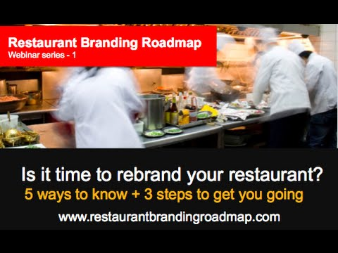 RBR Webinar #1 - Is it time rebrand your restaurant