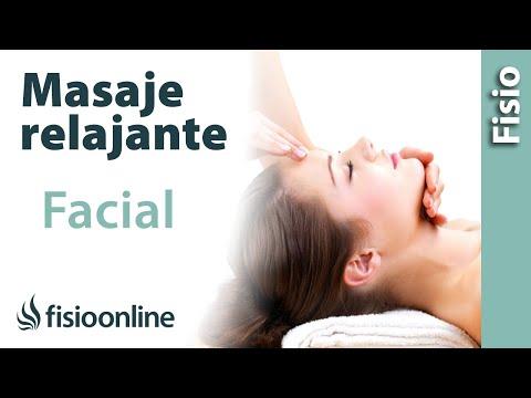 Cómo hacer un masaje relajante de cara o facial