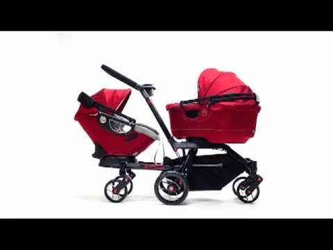 2011 Orbit Double Stroller Helix2 - YouTube