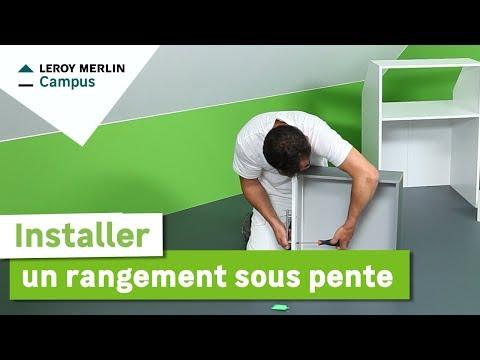 Full download comment installer des panneaux en bois leroy merlin - Rangement sous pente ikea ...
