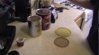 Peanut Butter Moo / Banana Mocha Frappuccino