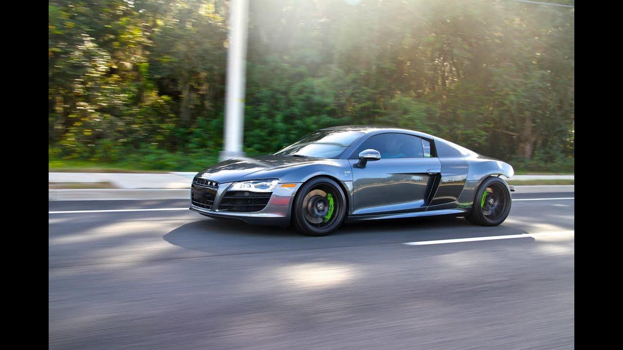 Audi R8 V10 Twin Turbo vs Nissan Skyline GTR R33 Single Turbo - YouTube