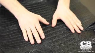 ВидеоОбзор#21 Хорнбек (crocodile horn back) из кожи крокодила