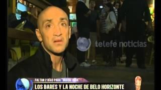 La noche en Belo Horizonte - Telefe Noticias