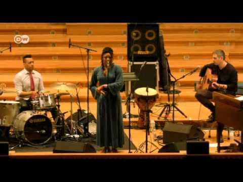 Deutsche Welle feature on Marilyn Mazur from Jazzfest Bonn 2015