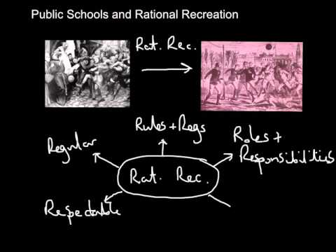 Rational Recreation - Public Schools and the spread of sport