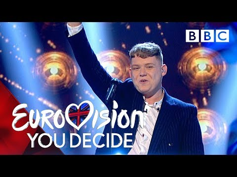 Eurovision 2019 UK entry Michael Rice reprises 'Bigger Than Us' after You Decide victory - BBC