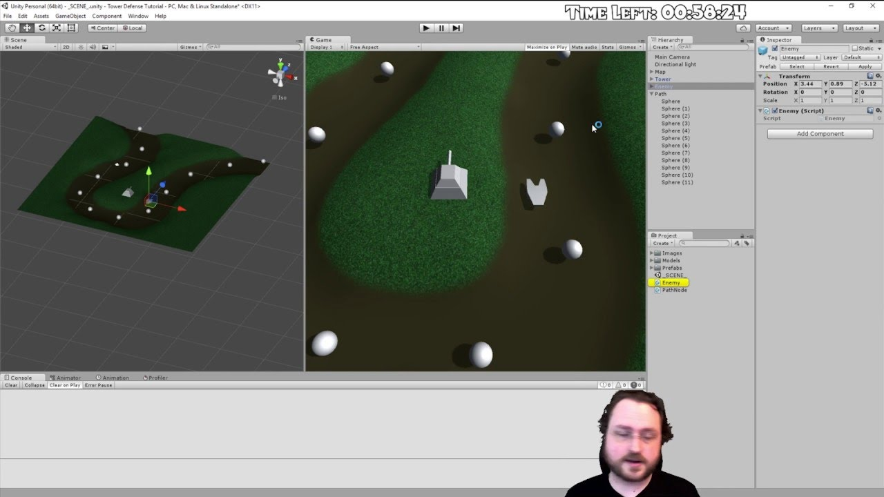Hour Programming A Tower Defense Game In Unity D Tutorial - Programming games