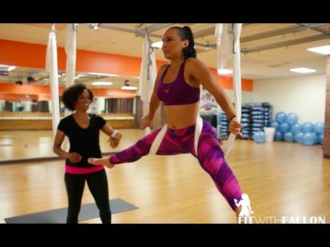 Fit With Fallon: Antigravity Yoga