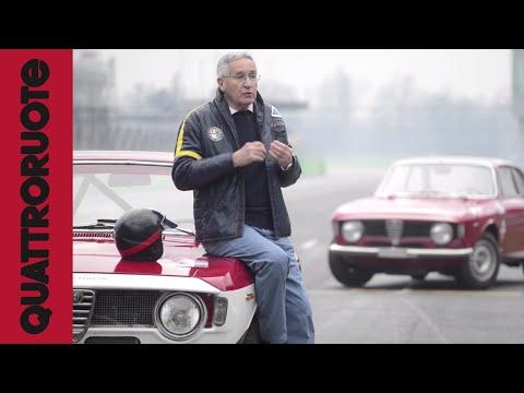 Mito Alfa Romeo: De Adamich torna sulla Giulia Sprint GTA del 1965