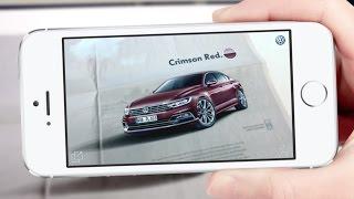 Layar – Volkswagen Promotes New 2015 Passat with AR