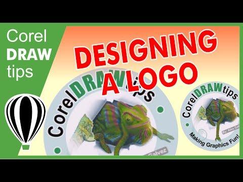 Creating logo using CorelDRAw