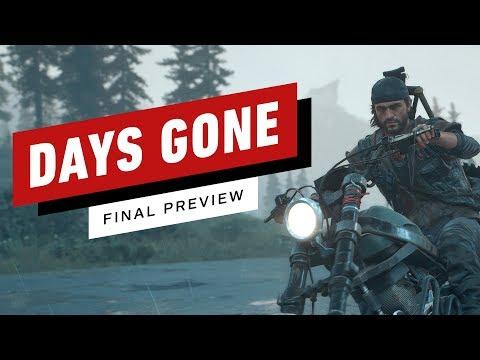 Days Gone Open World Gameplay Impressions