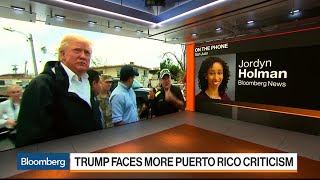 Puerto Rico's Mixed Reaction to Trump's Visit