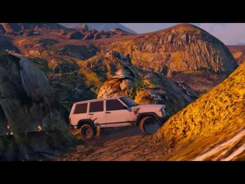 GTA V No Water+Jeep XJ Test