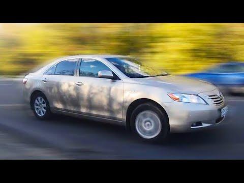 видео: Обзор Тойота Камри 2.4 (40 кузов) МКПП