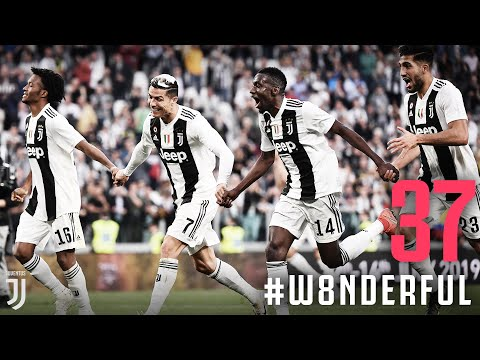 The #W8NDERFUL moment Juventus lifted the Scudetto!