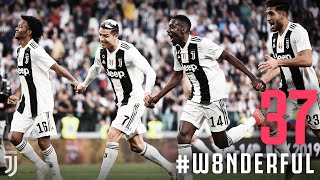 The #W8NDERFUL moment Juventus lifted the Scudetto! | Juventus