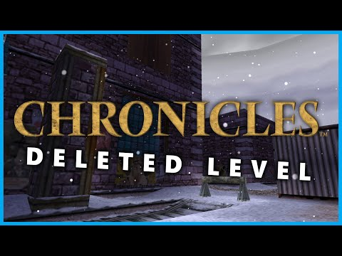 Tomb Raider 5: Chronicles: Deleted Level (The Base Exterior) |