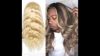Custom Color Your Own 613 Platinum Wig! (Ciara Inspired)