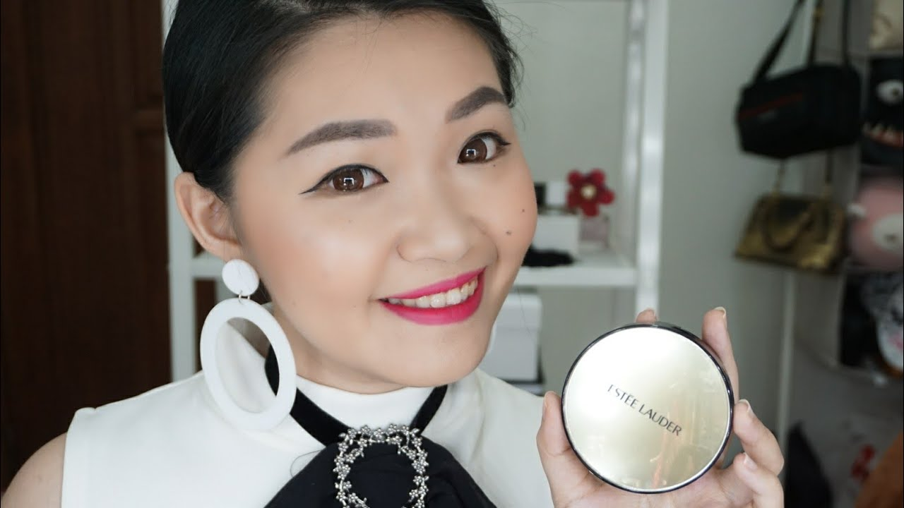Este Lauder Double Wear Cushion Review And First Impression