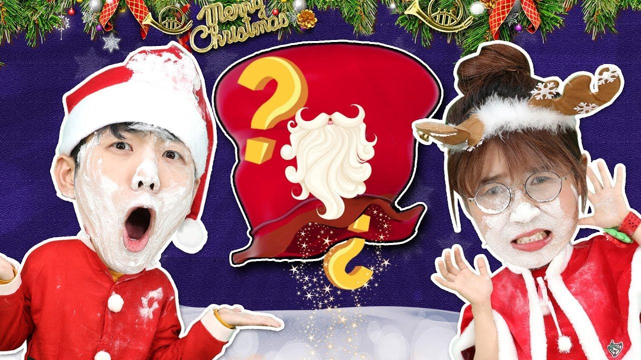 聖誕老人的麵粉鬍子?一起來麵粉堆裡找糖果吧!小伶玩具   Xiaoling toys - YouTube