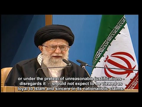 Ayt Khamenei calls Islamic Ummah to fulfill responsibility towards saving Palestine nation(Engsub)