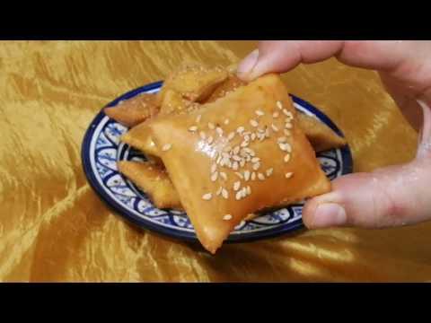 جديد رغايف العيد معسلين و مقرمشين بطريقة سهلة و سريعة