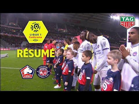 LOSC - Toulouse FC ( 3-0 ) - Résumé - (LOSC - TFC) / 2019-20