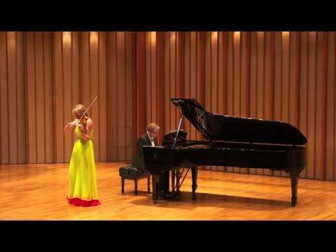 Katia Popov and Anton Smirnoff: Henryk Wieniawski, Concert Polonaise in D (1852)