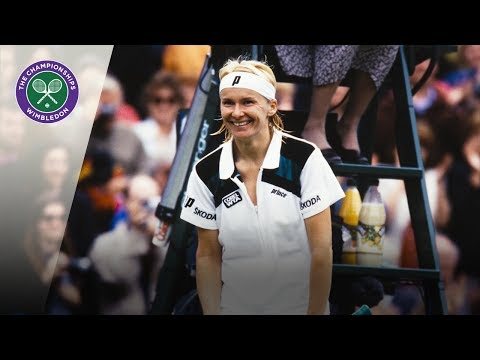 Jana Novotna's Wimbledon journey